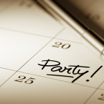 Party planner setting a date